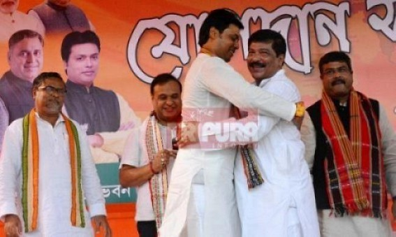Biplab Deb's unnecessary interference in each Dept for media hunger now turns heavy upon him, Minister Sudip Barman gives final warning to CM's Principal Secretary