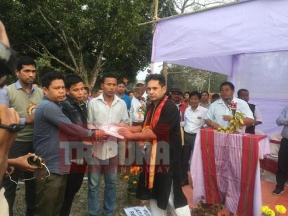 Jirania violence : Gunshot victims helped financially by Pradyot Manikya
