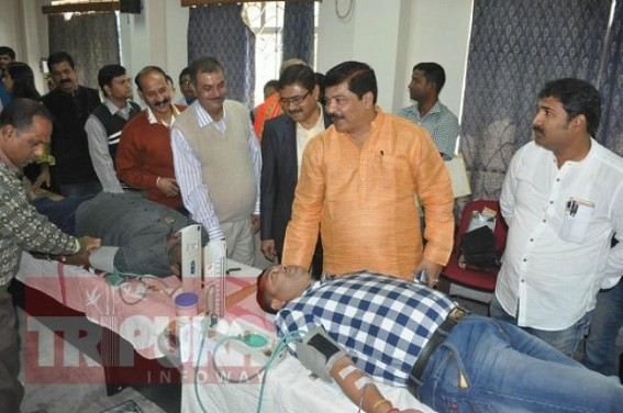 Health Minister appeals people from 18 to 65 years to donate blood 4 times in a year