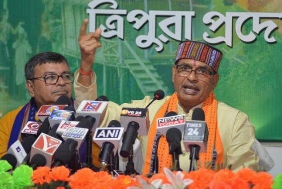 Amid daily violence, MP's former CM claims, 'Tripura CPI-M regime was worse than Bengal's Mamata Banerjee Govt'