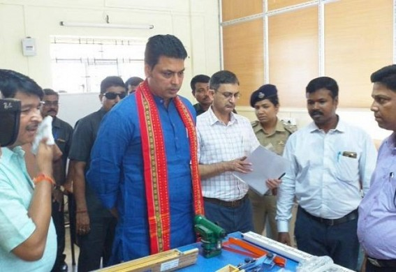 CM calls for 'Nesha-Mukt Tripura' at Kanchapur, warns 'Ruthless' action against Drug-Smugglers