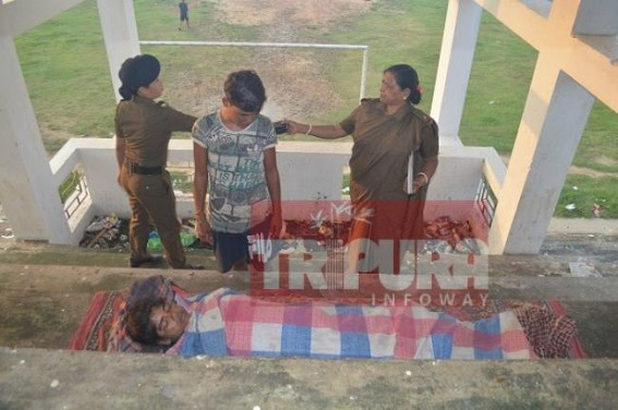 Blood clotted dead body of woman found in Astabal stadium
