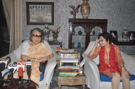 Princess Pragya Deb Burman hits Deodhar for calling her 'Non-Tripuri'
