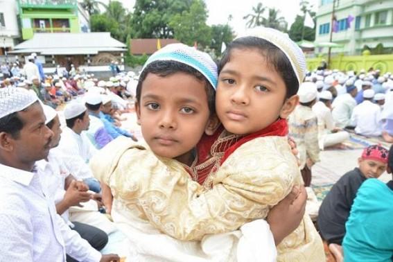 Eid celebrated in Tripura