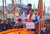 Tripura : BJP completes nomination submission for LS Election