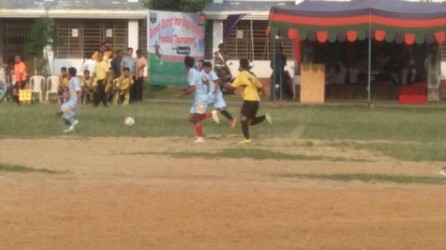 Assam Rifles organized football tournament in Udaipur. TIWN Pic June 17