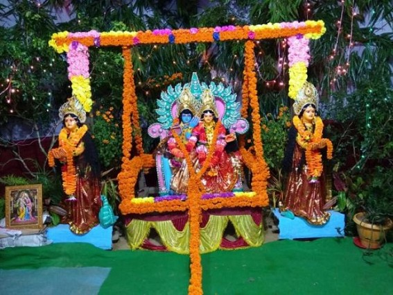 'Jhulan' festival celebrated across Tripura