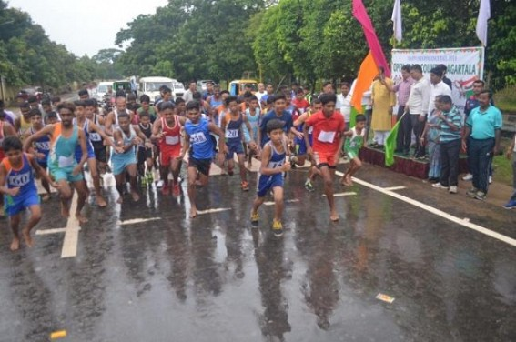 Ahead of 73rd Independence day, Cross Country run marks celebrations
