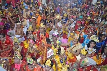 Janmastami celebration at Agartala. TIWN Pic Aug 24