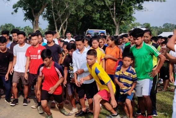 Assam Rifles organized Run for Unity