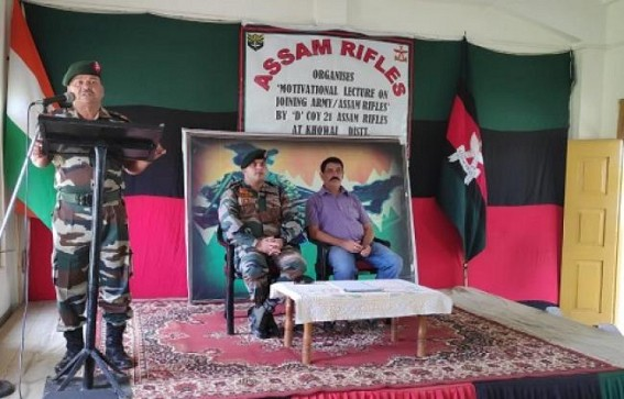 Assam Rifles motivates students to join Army, AR