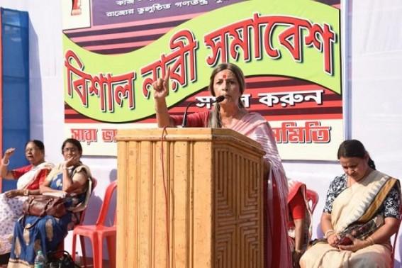'Rapists, Criminals are getting clean-chits by saying BJP Zindabaad with Modi's Washing Powder',says Brinda Karat