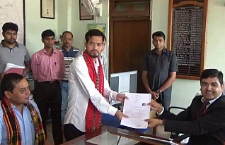 IPFT candidate submits nomination, as BJP declares candidates