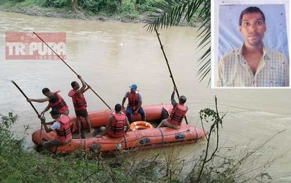 Man drowned in river, search operation started by NDRF