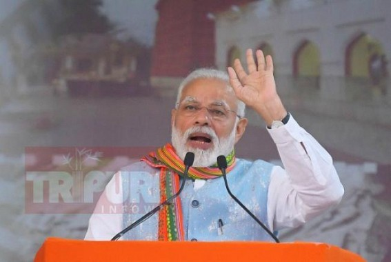 'All jobs in Tripura are on merit basis', says Modi, stays silent on 50,000 Govt jobs promises in 1st year, 7 Lakhs Jobs creation within 30 months :  BJP youths recruitment as IT persons exposed Govt Corruption