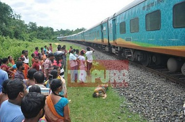 One more life claimed near Agartala Railway Station. TIWN Pic June 21