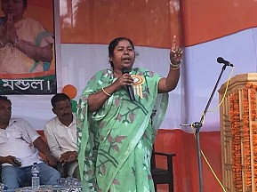 'Prapti-Yug will start after LS Election' ! Crime Queen released her new JUMLA for Sonamura voters, cursed CPI-M MPs but silent on her Drug Empire, Multiple murders