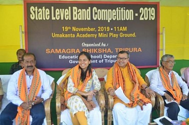 State-level band competition held at Umakanta Academy. TIWN Pic Nov 19