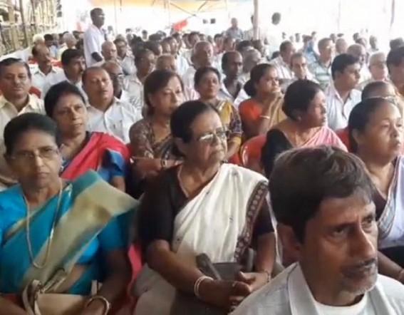 CPI-M agitates against farcical election