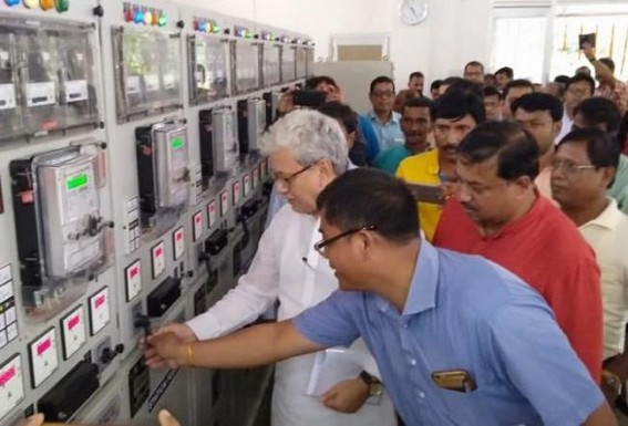 Massive Power Cut hit normal lives in capital city Agartala : TSECL increased 18.8% in meter reading could not help the consumers