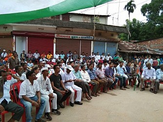 Youth Congress rally for Badharghat-14 by-election. TIWN Pic Sep 14