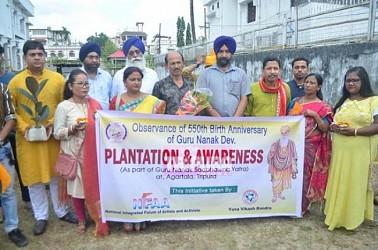Guru Nanak's 150th birth anniversary celebrated. TIWN Pic Oct 15