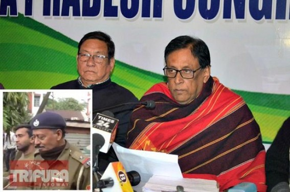 BJP's 'B' Team Pijush Biswas, Birjit began Anti-Congress Activity : To please Biplab Deb, Birjit raised voice against Brus, Pijush disowns Congress Activist Arindam Bhattacharjee