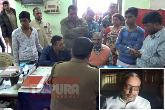 Police brutality in rise ! Tripura Human Rights' Organisation (THRO) demanded Judicial probe in Custodial alleged murder incident at West Agartala PS