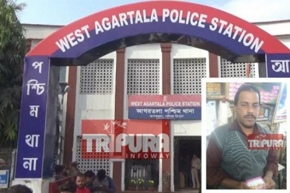 No arrest, No suspension of West Agartala Police Officials yet ! CPI-M demands Judicial probe in Sushanta Ghosh murder case, Cong demands CBI probe