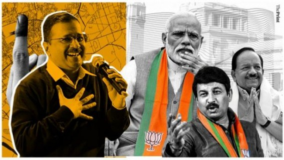AAP remains Delhi Assembly favourite, BJP for Parliament