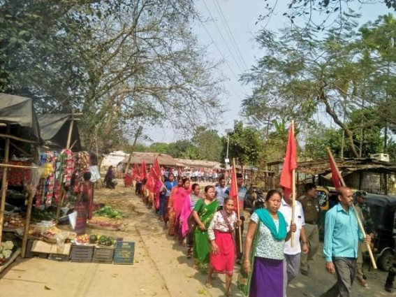 CPI-M protests against Central budget 2020