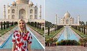 Ivanka puts Insta on fire with 'awe inspiring' Taj Mahal pics