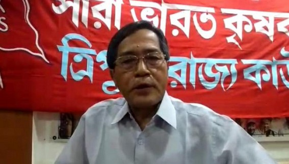 BJP-IPFT' is running at opposite direction of Pre-poll promises , Vision Document is nothing but JUMLA , claimed GMP president Jitendra Choudhury