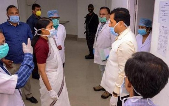 COVID-19: 57 test positive in 24 hrs in Assam