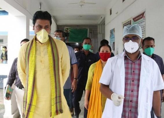 CM visited Quarantine Centres, Health Care Centres