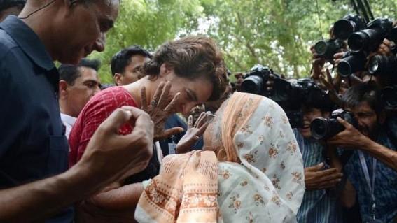 Priyanka slams UP govt after court stays teachers recruitment