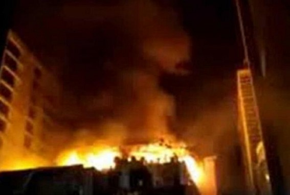 12 rescued from burning Mumbai building, fire doused