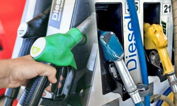 Diesel Price records highest in history, sold at Rs. 75.20 in Agartala, Petrol Rs. 80.46