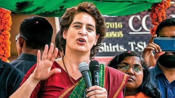 Priyanka brands Mayawati as BJP's 'unannounced spokesperson'