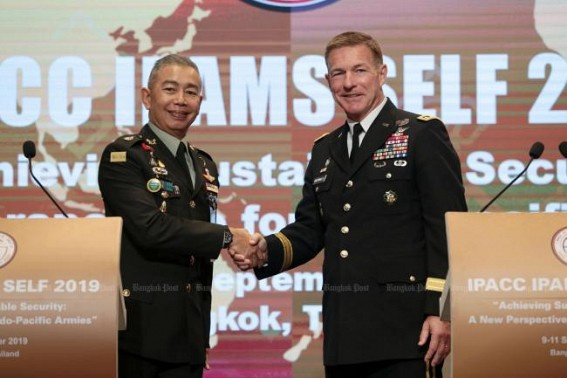 US Army Chief of Staff won't quarantine in Thailand during visit