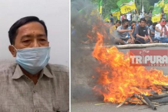 IPFT's Strike against own BJP Govt exposed Tripura's Law and Order situation : Jitendra Choudhury