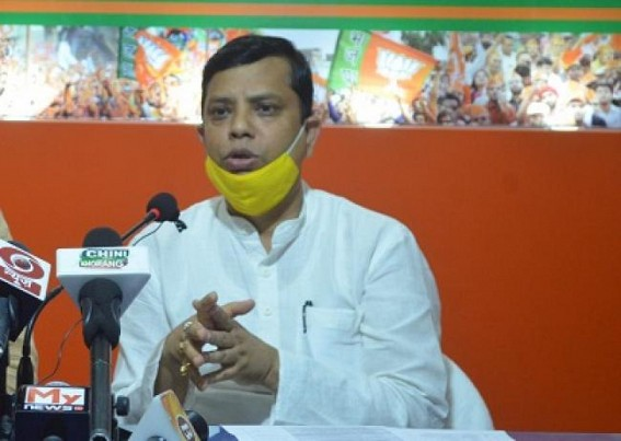 After controversy on Law Minister, BJP now suspends all Party works for COVID-19 until further order