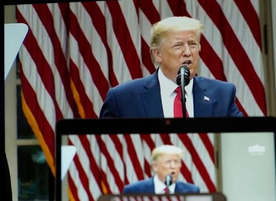 Trump drops election delay idea, targets postal voting