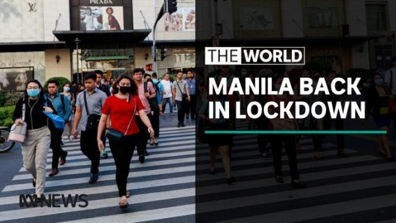 Millions return to lockdown in Philippines