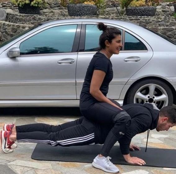 Priyanka Chopra reveals why pushups are her favourite