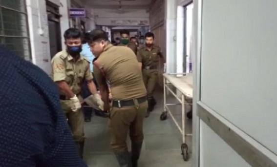 2 injured in Bishalgarh road accident