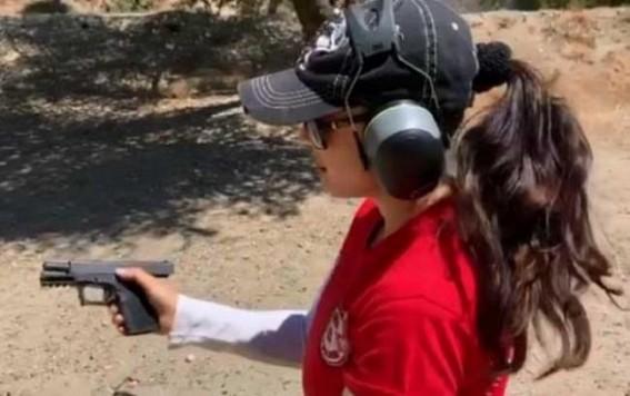 Preity hones shooting skills under 'John Wick' trainer