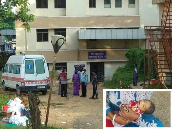 How did the 3 days old baby Die ? No statement from State Govt yet, No Action against Medical staffs was declared