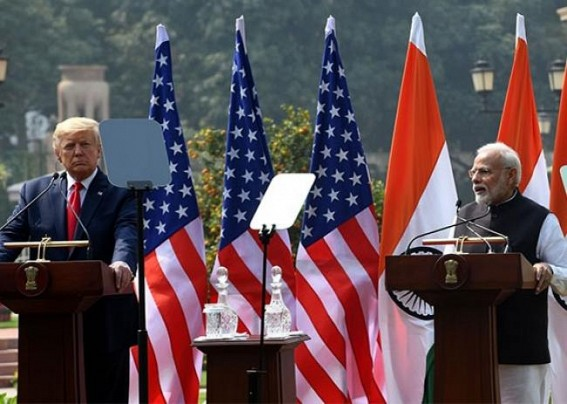 Trump says Modi praised him over Covid-19 testing