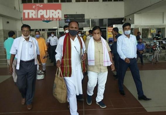 BJP rebel MLA Ramprasad Pal, returns Tripura after meeting Central Leaders : Confirms 25 top leaders were in Delhi visit